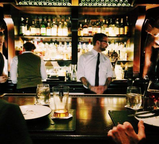 Bar scene alcohol addiction